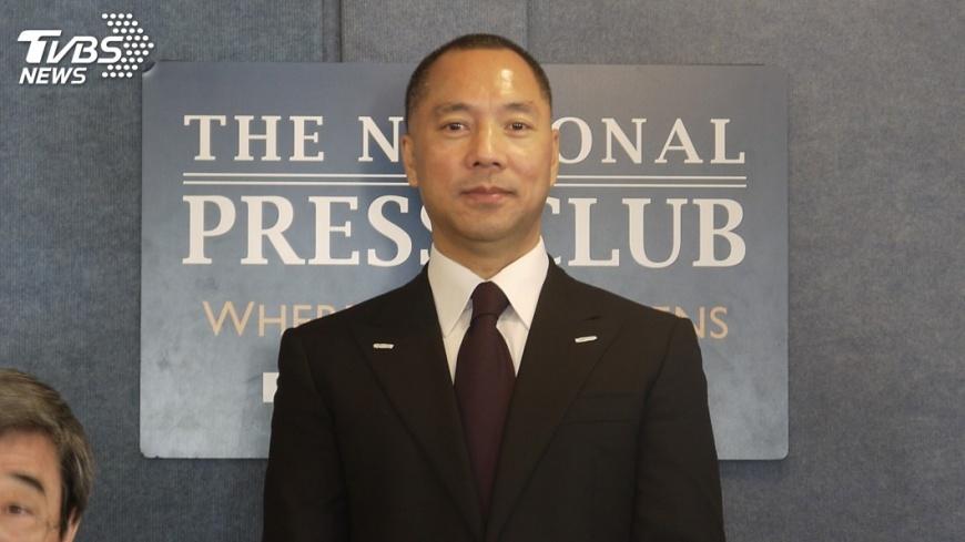 圖/中央社 報導郭文貴遭報復 陳小平指控陸綁架妻子