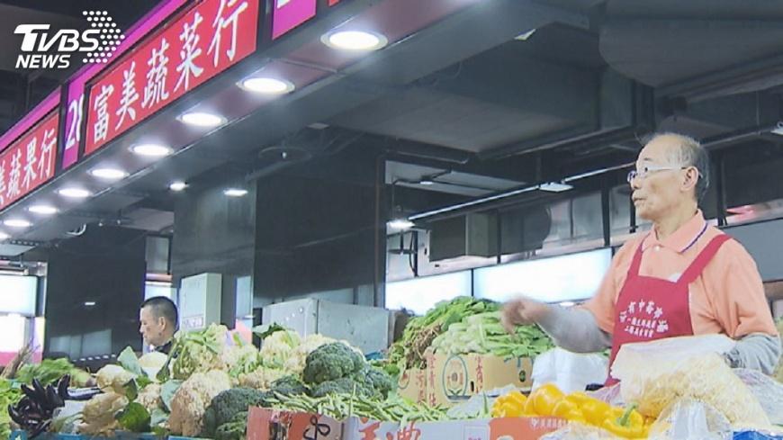 圖/TVBS 菜市場、旅館同一棟! 中崙市場重新開幕
