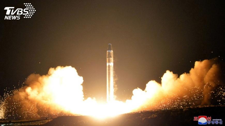 圖/達志影像美聯社 抗衡北韓 美國在南韓輪換部署戰略武器
