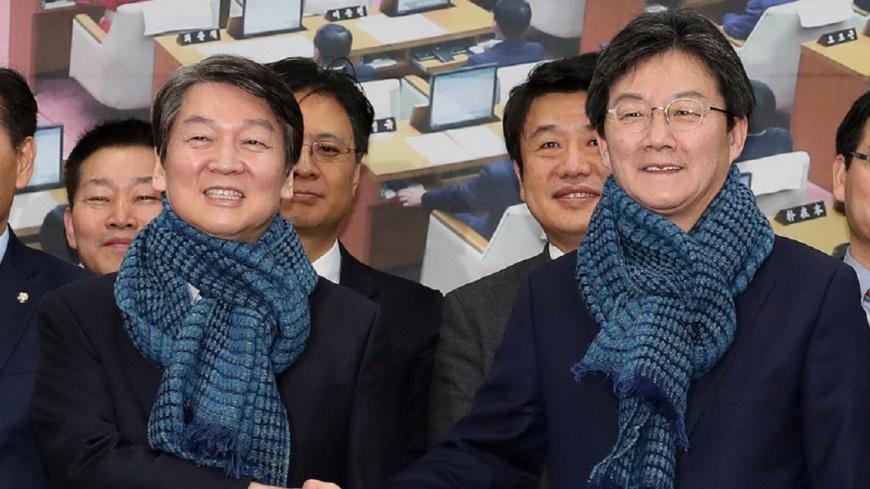 韓在野兩黨合併 創立統合改革新黨