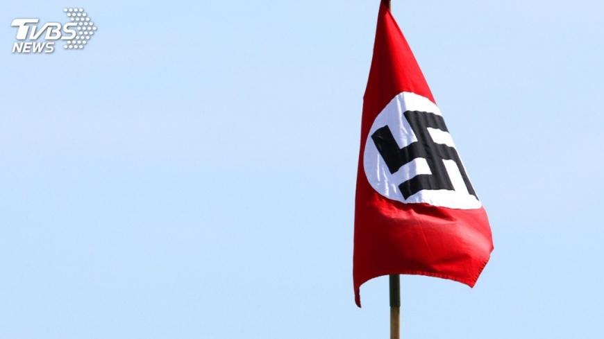 示意圖/TVBS 台北抗議活動再現納粹旗幟 德、以同聲譴責