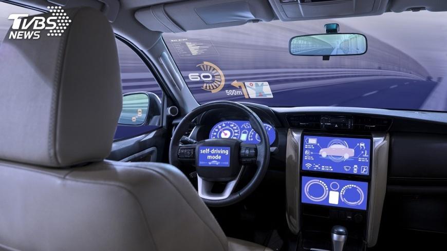 示意圖/TVBS 汽車產業2030年風貌 無人駕駛估占4成