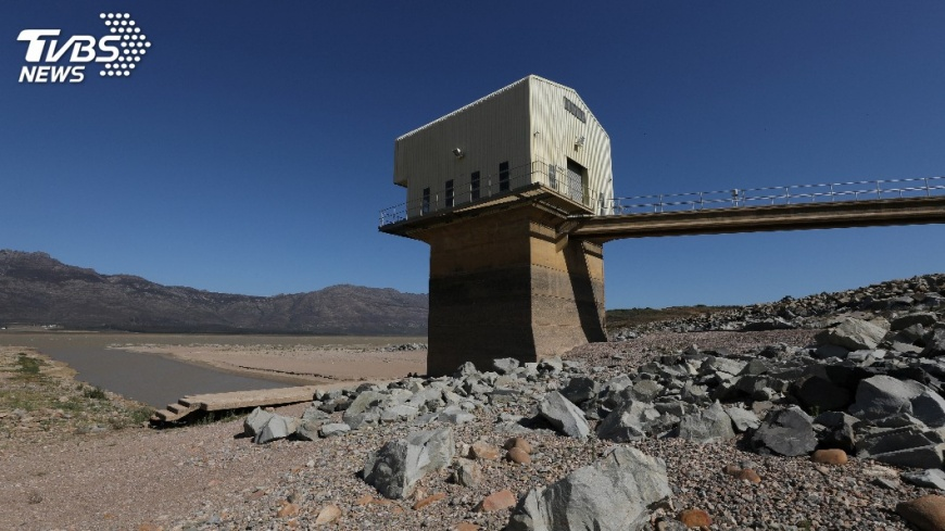 圖/達志影像路透社 水庫存量只夠3個月 開普敦面臨缺水危機