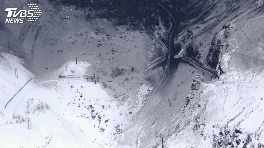 圖/達志影像路透社 日本草津白根山火山噴發 傷者無台灣人