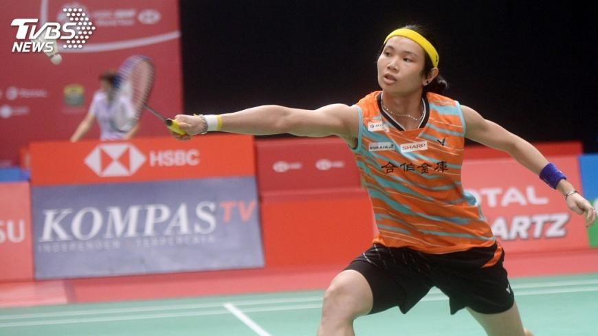 圖/中央社 印尼羽球賽 戴資穎輕取自家對手晉8強