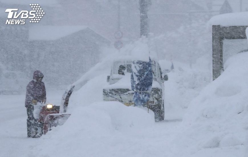 圖/達志影像美聯社 最強寒流壟罩東北亞 首爾體感溫零下25度