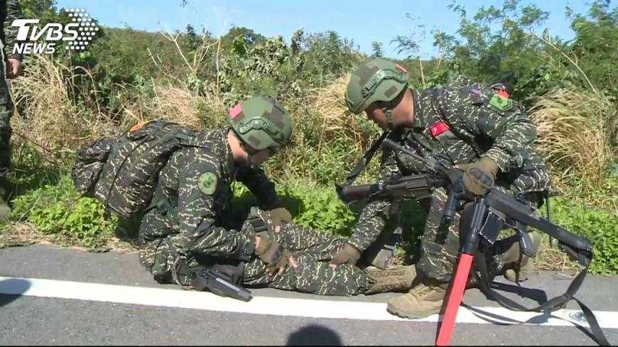 圖/TVBS 陸戰隊200公里急行軍 恆春半島大對抗