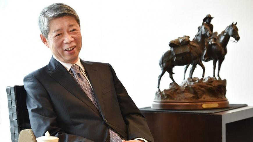 圖/TVBS 張孝威直說直做 做自己,就是最佳領導人