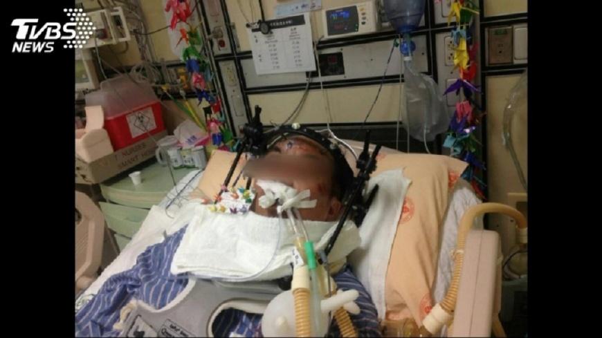 高樹賢遭學生衝撞,摔下樓導致癱瘓。圖/TVBS 遭學生撞擊「終身癱瘓」 老師醒來卻說:我不恨他!