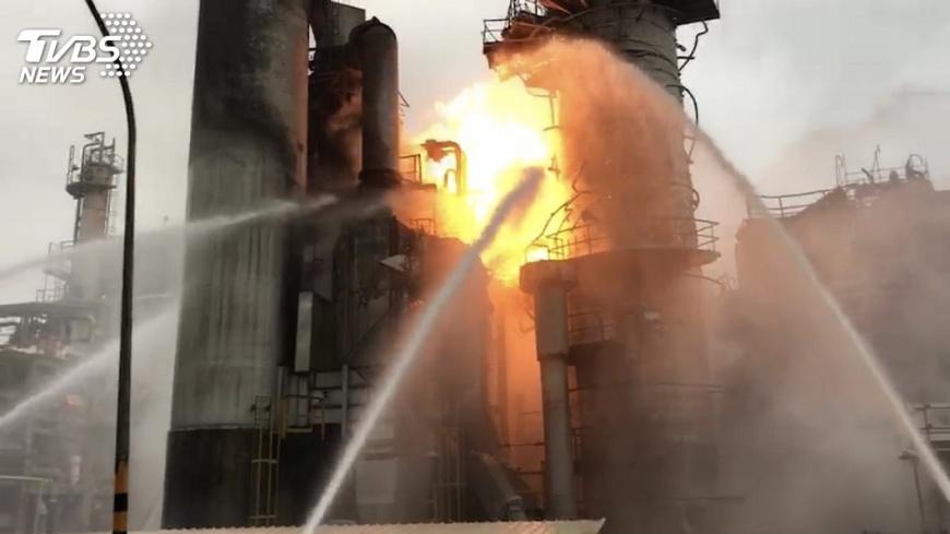 圖/中央社 中油煉油廠加熱爐過期 職安署將開罰
