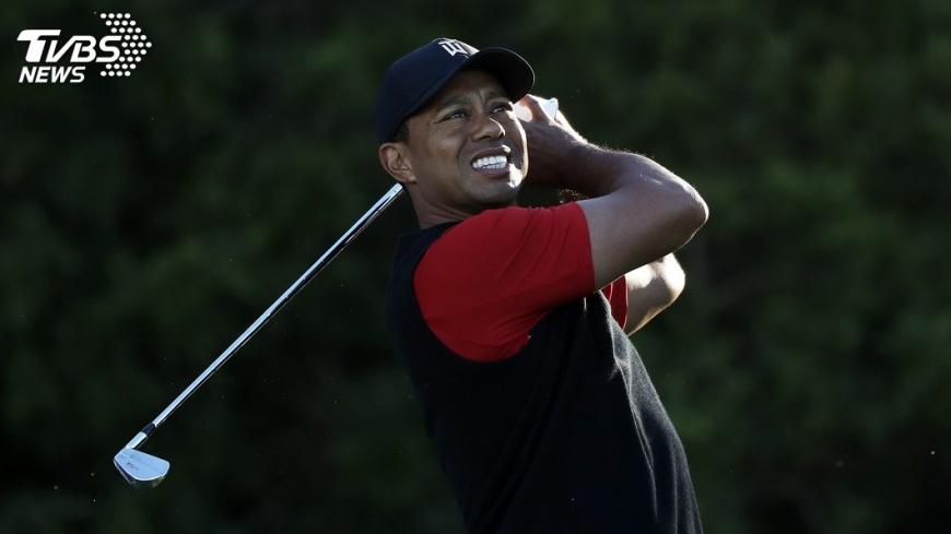 圖/達志影像美聯社 美PGA農保公開賽 伍茲重獲關愛眼神