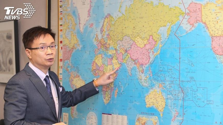 圖/中央社 中美貿易角力 黃志芳:加強電子通路拓銷