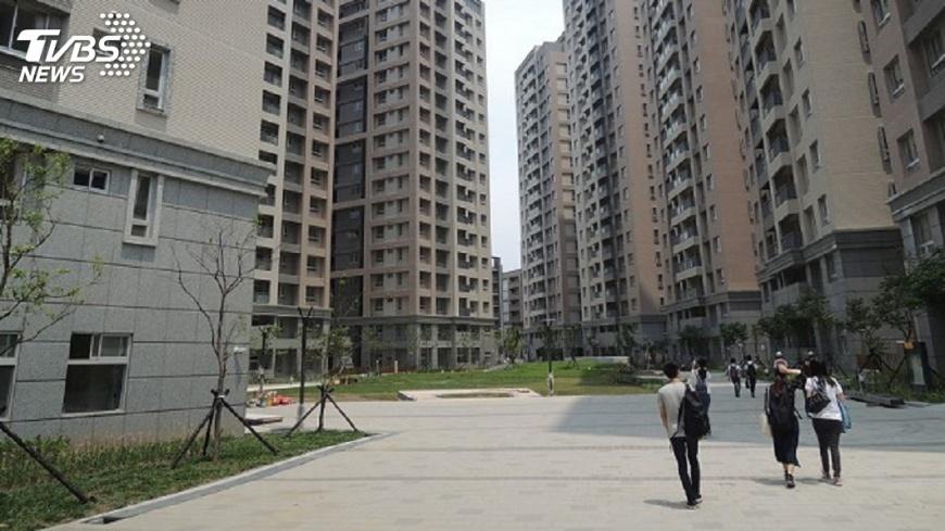 圖/TVBS 新北政府:林口社宅租金依市價8折 與降稅無關