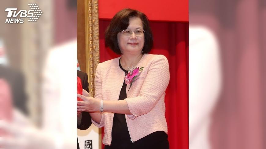 圖/中央社 司法官學院院長蔡碧玉 學術實務經驗豐