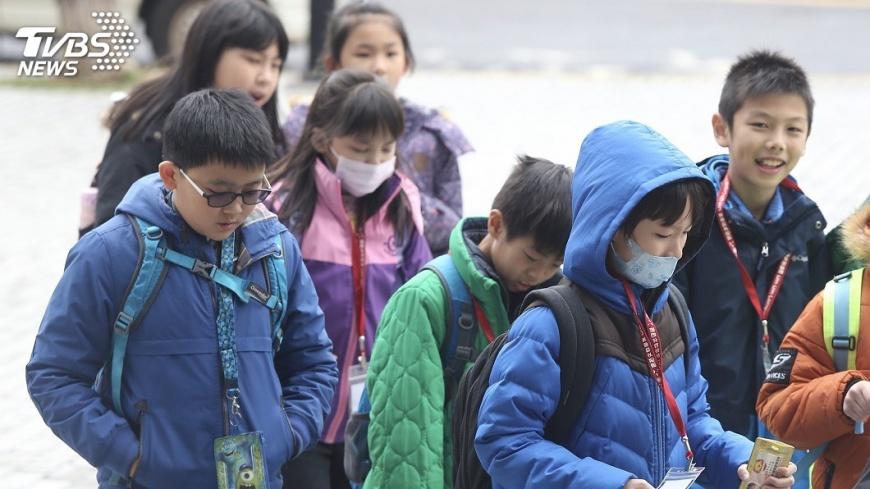圖/中央社 2月3日入冬最強寒流 最低溫下探6度