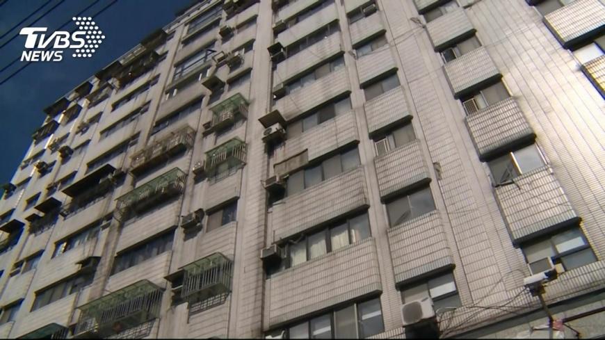 圖/TVBS 低溫加地震 營建署籲注意大樓外牆磁磚剝落
