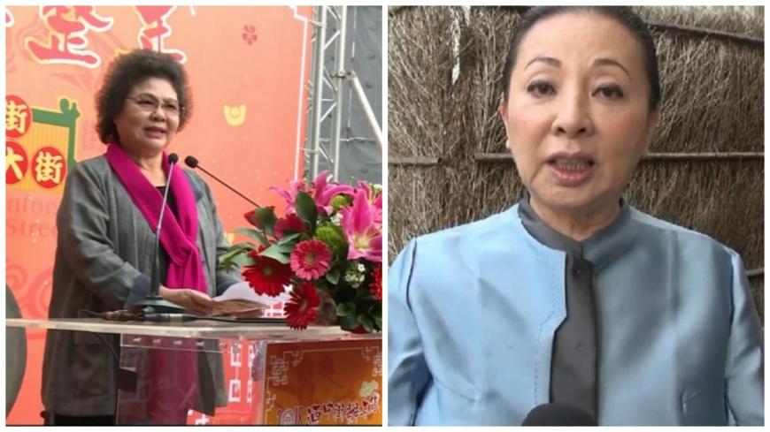 現任高雄市長陳菊和嘉義縣長張花冠。
