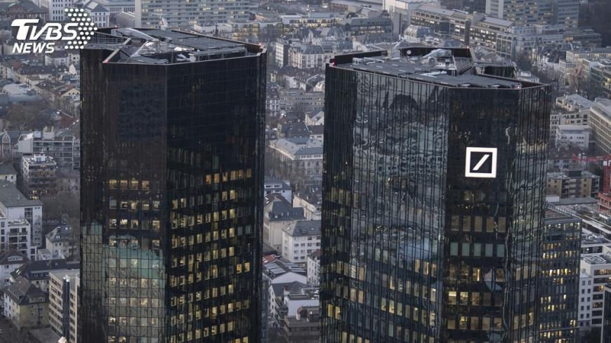 圖/達志影像美聯社 德意志銀行持續虧損 去年淨損約186億元