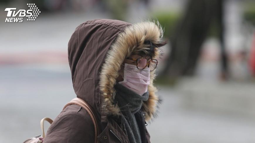 圖/中央社 寒流急凍! 北市10人疑天冷猝死