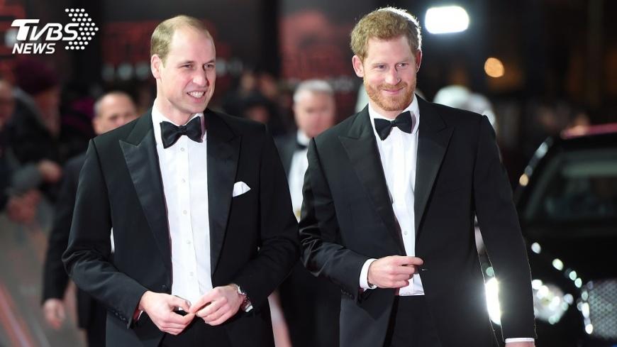 圖/達志影像路透社 英王室最受歡迎成員 威廉、哈利兄弟當選