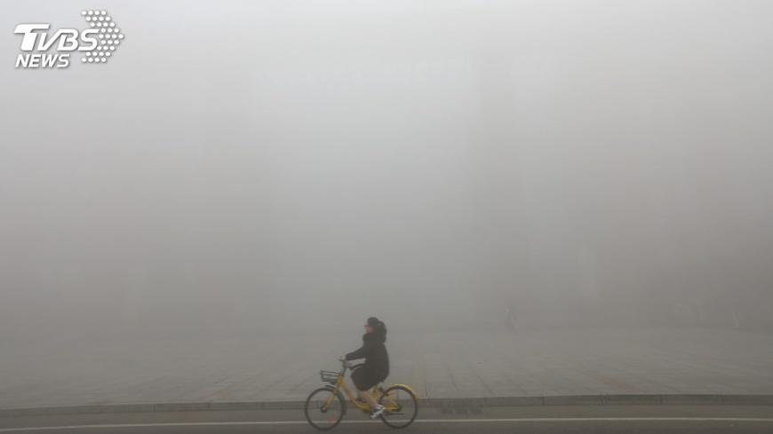圖/達志影像路透社 中國科學院發布首幅全球二氧化碳分布圖