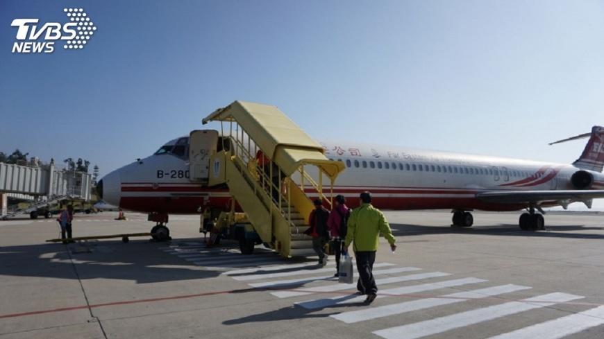 圖/中央社 M503影響航點仍有機位 小三通載客率低
