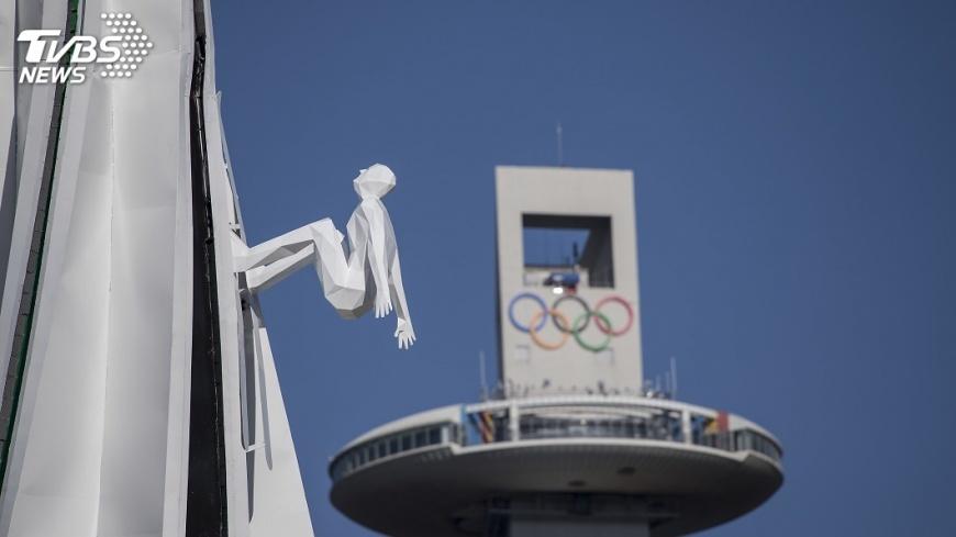 圖/達志影像美聯社 中華奧會主席抵韓 出席平昌冬奧開幕典禮