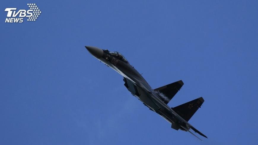圖/達志影像路透社 陸空軍發佈消息 蘇35戰機赴南海戰鬥巡航