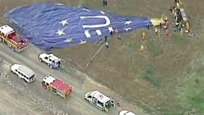 澳洲觀光熱汽球墜地 7人受傷送醫救治
