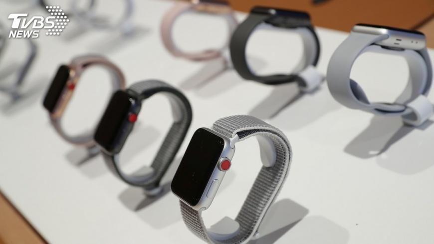 圖/達志影像路透社 蘋果錶心率檢測傳升級 可偵測糖尿病訊號