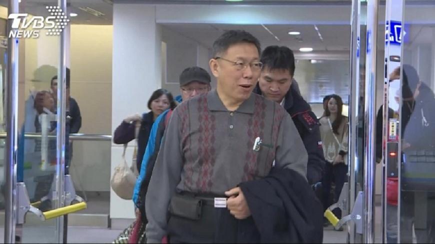 台北市長柯文哲。圖/TVBS資料畫面 李鴻源稱「台北強震倒4千房」 柯文哲坦言:會死6萬人
