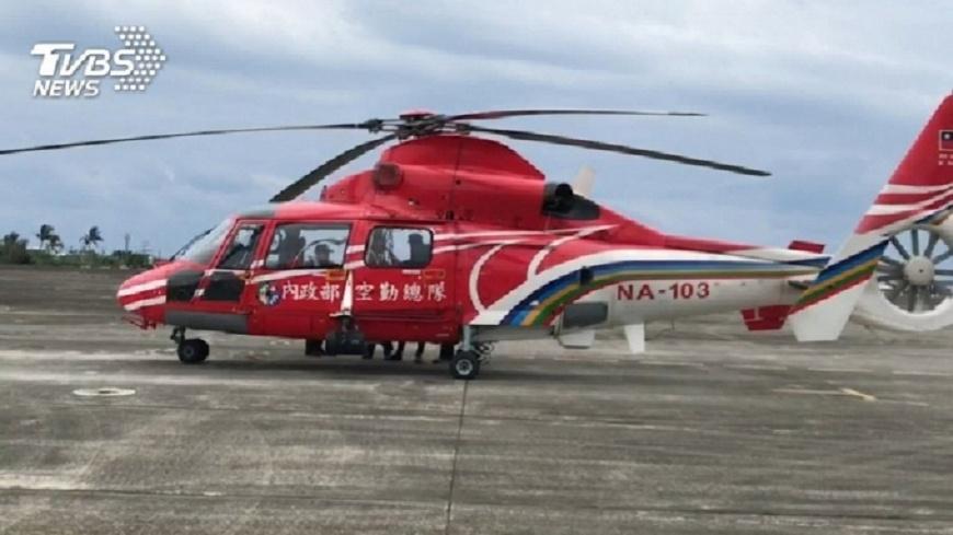圖/TVBS 內政部稱黑鷹墜入「馬里亞納海溝」 遭空勤總隊狠打臉