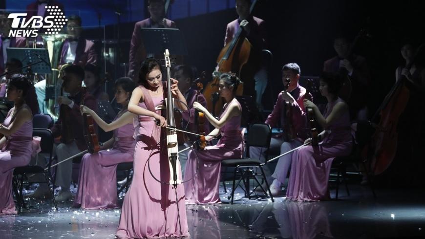 圖/達志影像美聯社 北韓藝術團時隔15年 南韓演出獲熱烈迴響