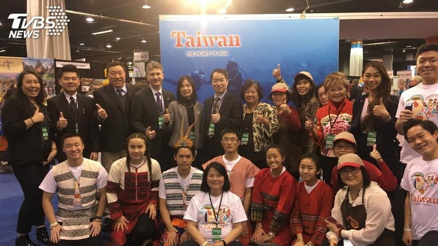 圖/中央社 芝加哥旅展 觀光局推台灣海灣旅遊年