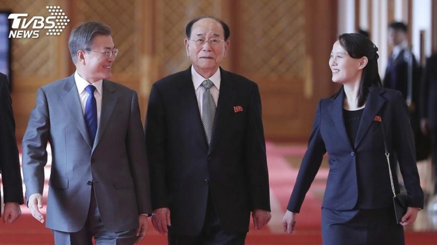 圖/達志影像美聯社 北韓官媒報會談坦率 未提邀文在寅來訪