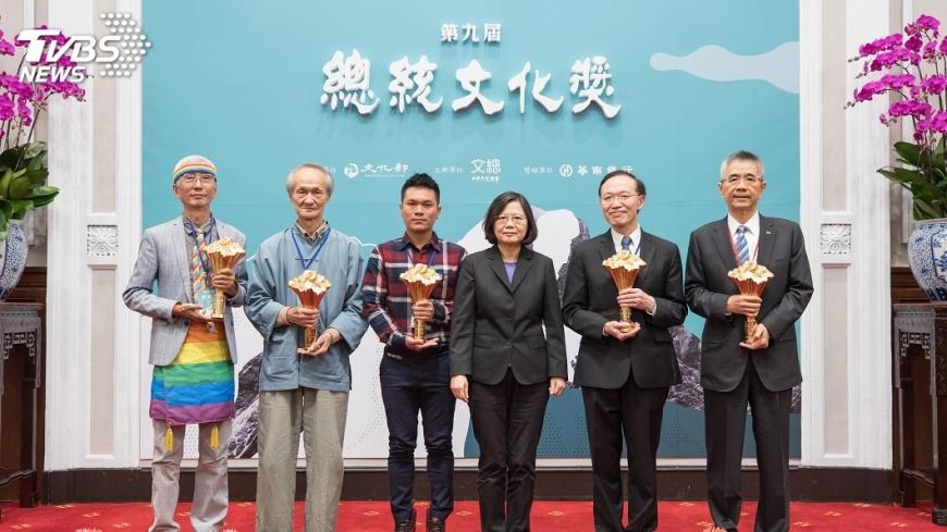圖/中央社 尋找台灣價值 總統文化獎得主紀錄片首播