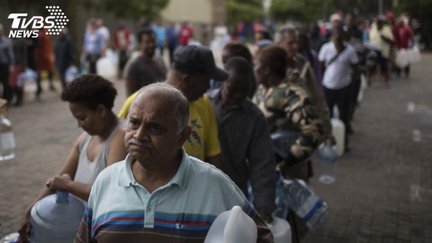 圖/達志影像美聯社 南非宣布旱災為國家災害 開普敦恐斷水