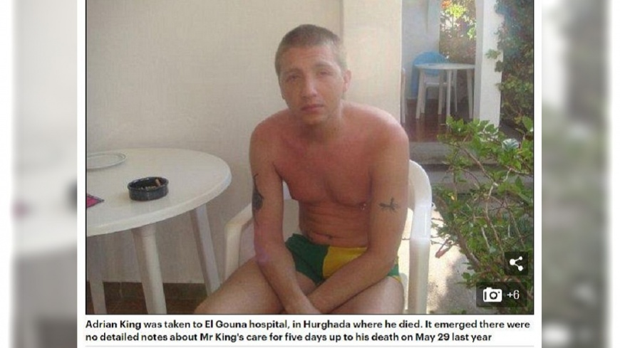 英國一名男子遊埃及突然重病,家屬一時付不出醫藥費,醫院竟然直接拔維生系統,導致男子喪命。(圖/翻攝自每日郵報) 男重病付不出醫藥費 醫院拔維生系統害喪命