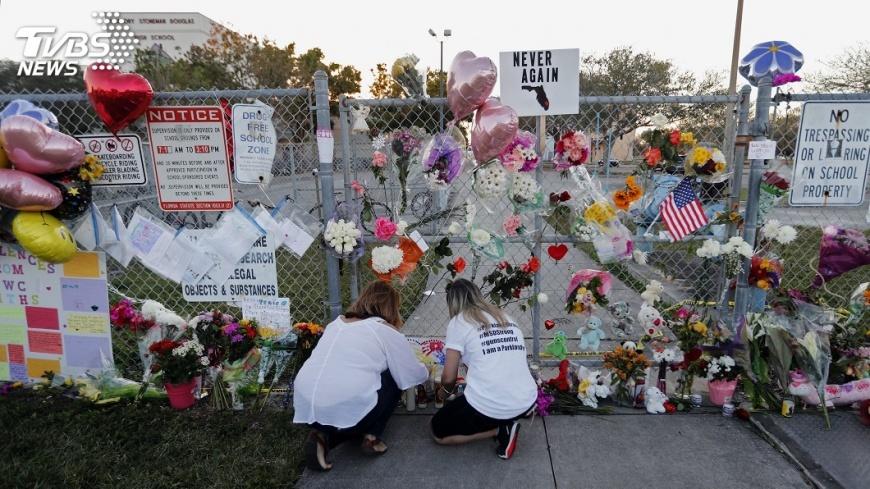 圖/達志影像美聯社 佛州槍擊歷劫學生  為何形成強力政治聲浪