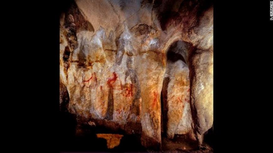 最古老洞穴藝術 揭史前人類具象徵性思維