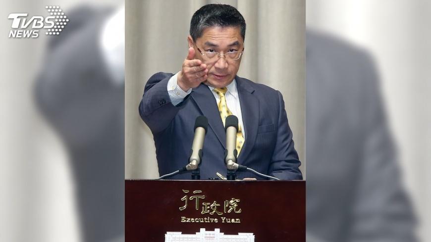 圖/中央社 政院宣布內閣改組名單 陳明通回鍋陸委會主委