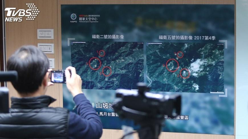 圖/中央社 福衛五號影像精進 科技部:9月正式服役