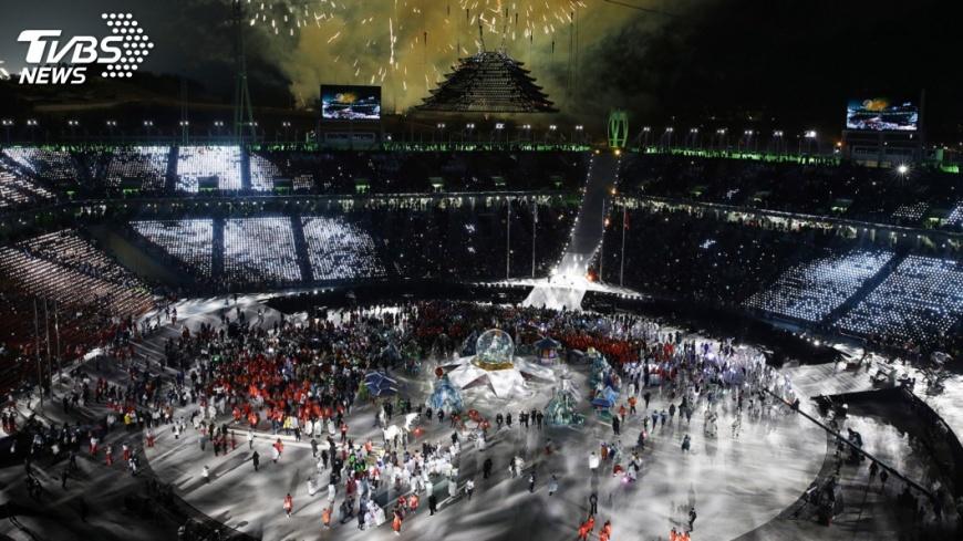 圖/達志影像美聯社 南韓辦冬奧花4000億 閉幕之後考驗開始