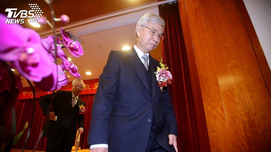 圖/中央社 彭總裁功成身退 央行楊總裁時代來臨