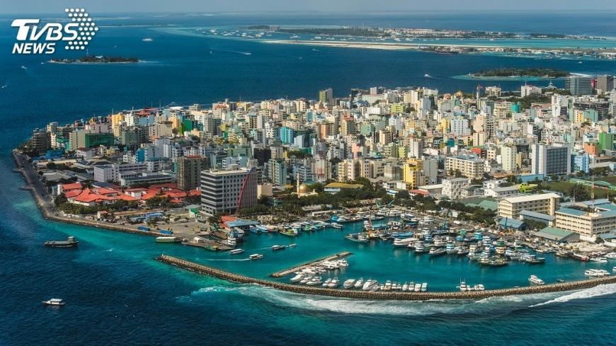 示意圖/TVBS 中國擬在馬爾地夫建海洋觀測站 印度關切