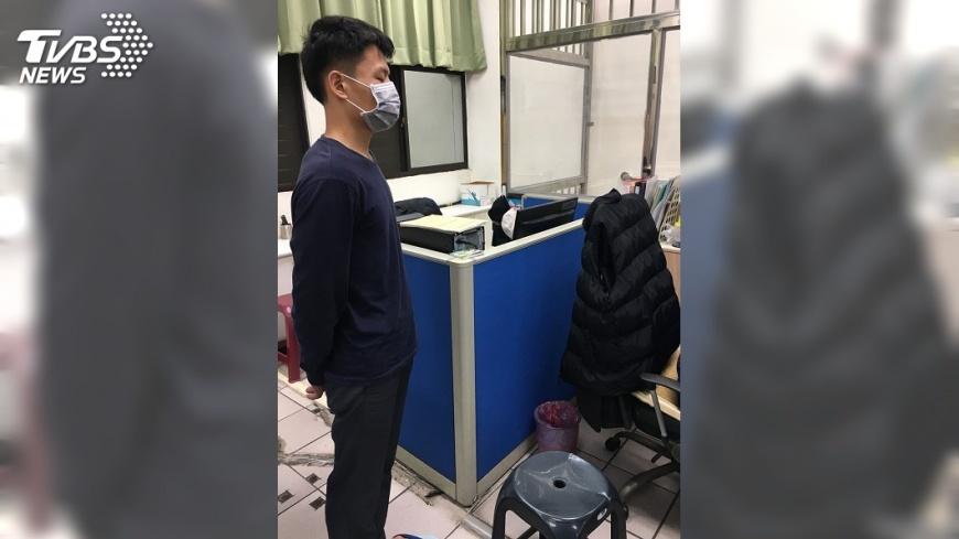 圖/中央社 松菸園區三度遭人開槍 警:疑同一人指使