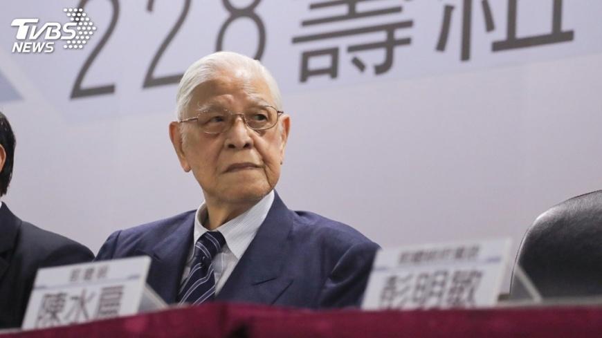 圖/中央社 李登輝:赦扁是司法的事  總統無權處理