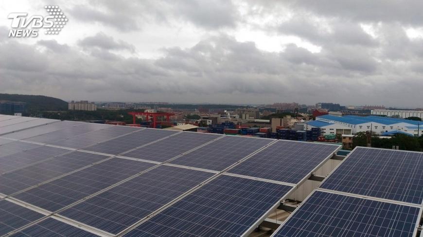 圖/中央社 太陽光電4策略升級  年產值衝3400億
