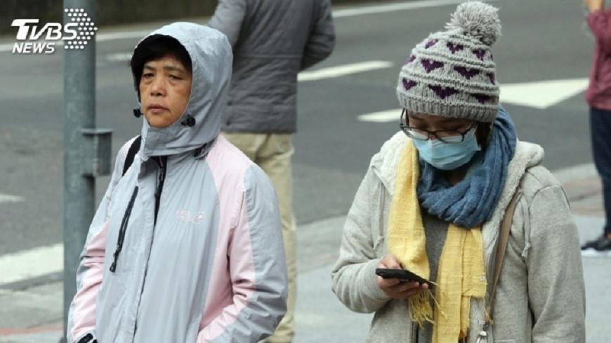 圖/中央社 週四起「回到冬天」 連3天低溫恐探8度