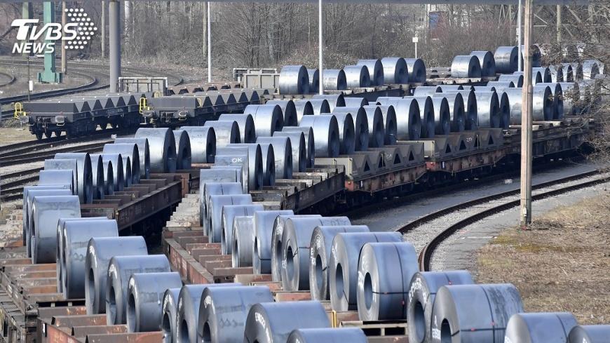 圖/達志影像美聯社 美課鋼鋁重稅似轉圜 鋼鐵股反彈中鴻止跌